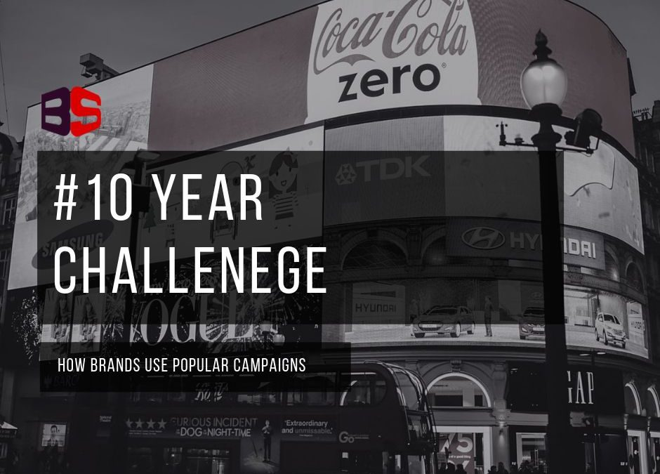 How Brands Used the #10YearChallenge