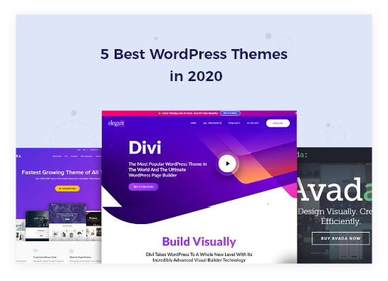 Top 5 wordpress themes in 2020